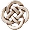 Link Celtic Open 9.5mm Antique Silver